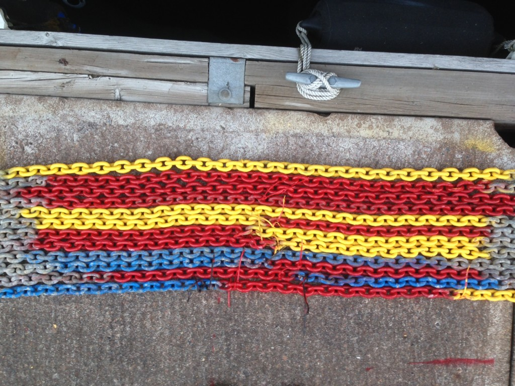 Paint Markings and Zip Ties
